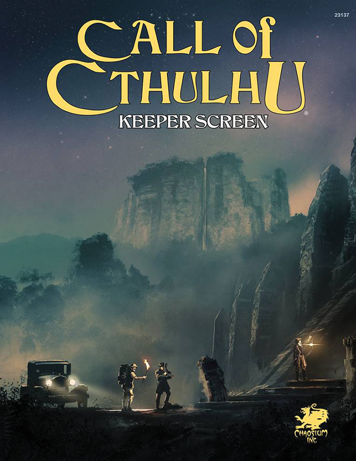 Call Of Cthulhu: Keeper Screen Pack Box Front