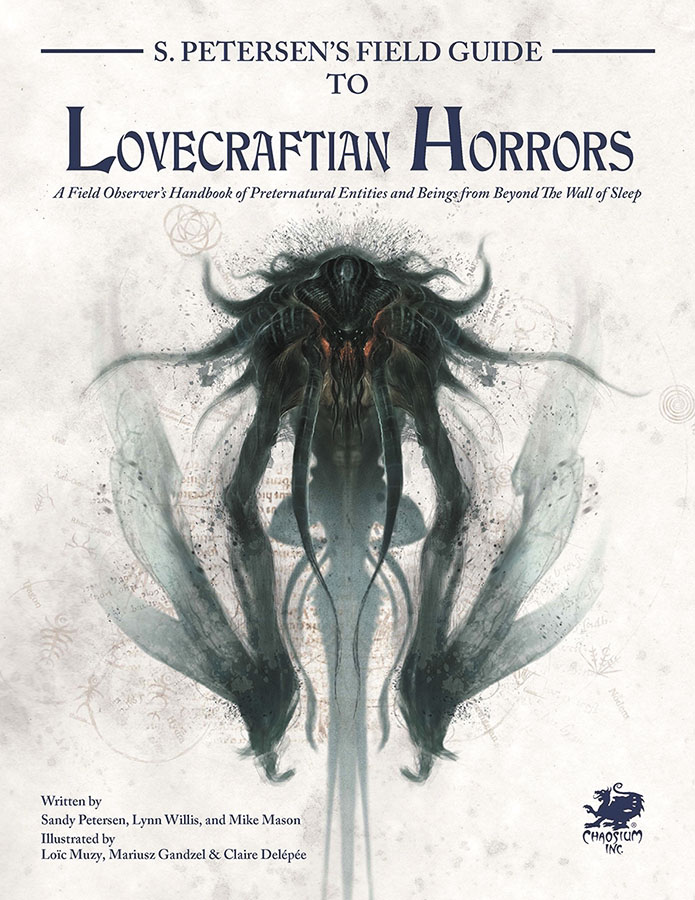 Call Of Cthulhu: Field Guide To Lovecraftian Horrors Hardcover Game Box