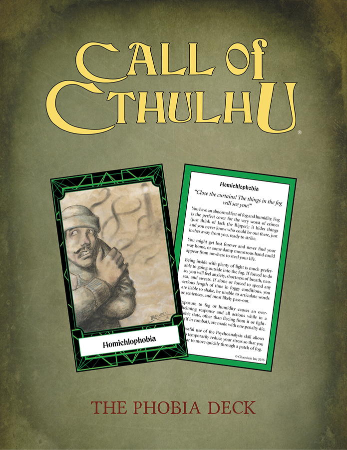 Call Of Cthulhu: Keepers Decks (4) Box Front