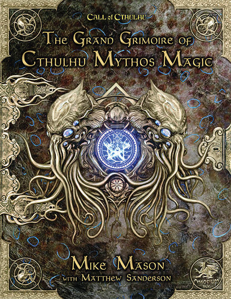 Call Of Cthulhu: The Grand Grimoire Of Cthulhu Mythos Magic Hardcover Game Box