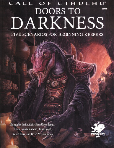 Call Of Cthulhu: Doors To Darkness Hardcover Box Front