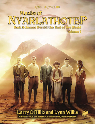 Call Of Cthulhu: Masks Of Nyarlathotep - An Epic Globetrotting Campaign (remastered) Game Box