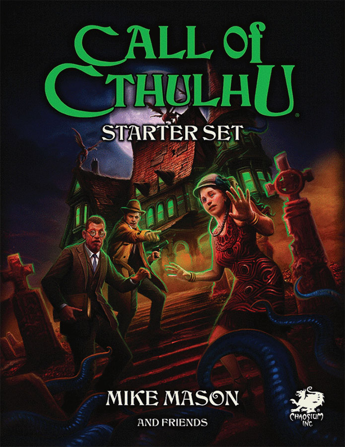 Call Of Cthulhu: Starter Set Game Box