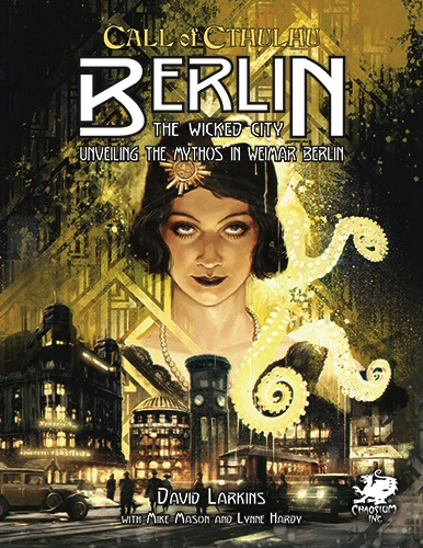 Call Of Cthulhu: Berlin - The Wicked City Game Box