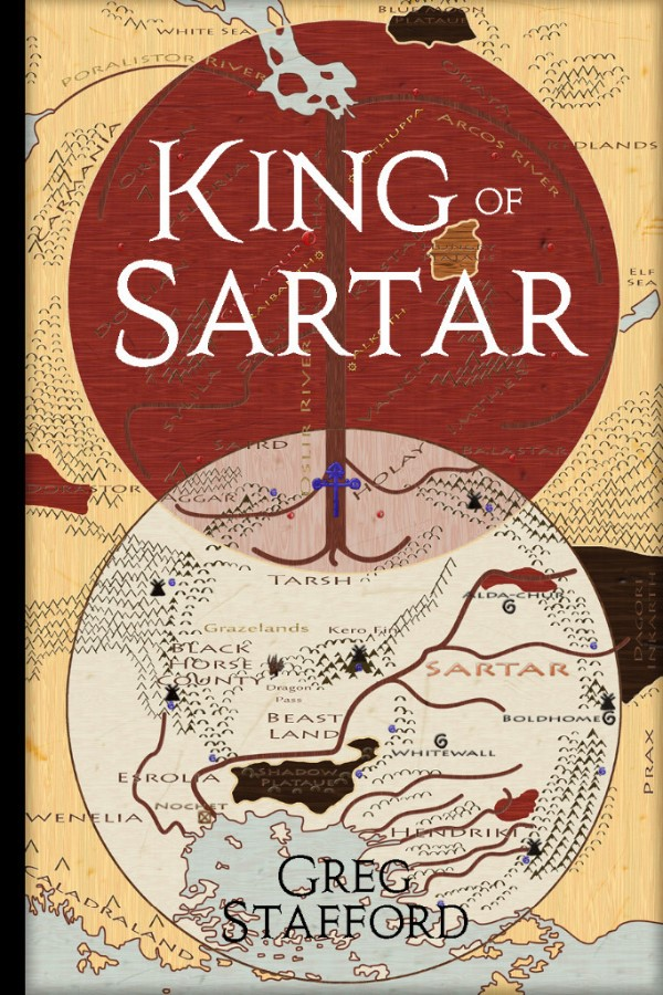 King Of Sartar: The Mystery Of Argrath Hardcover Box Front
