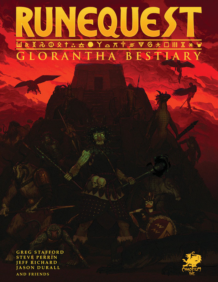 Runequest Rpg: Glorantha Bestiary Game Box
