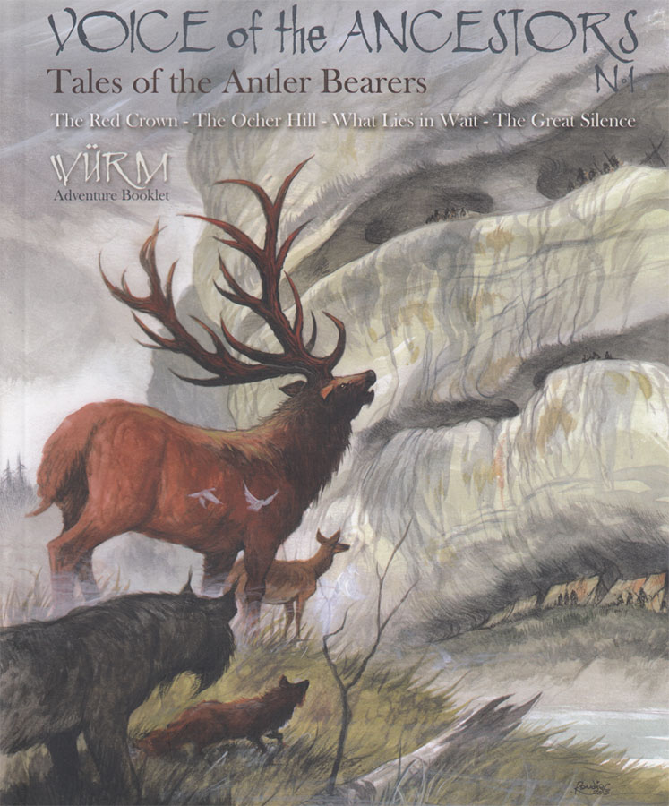 Wurm Rpg: Voice Of Ancestors Volume 1 - Tales Of The Antler Bearers Game Box