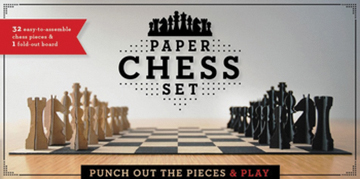 Paper Chess Set Box Front