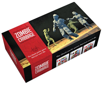 Zombie Cribbage Box Front