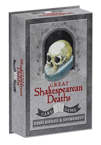 Great Shakespearean Deaths Card Game Game Box