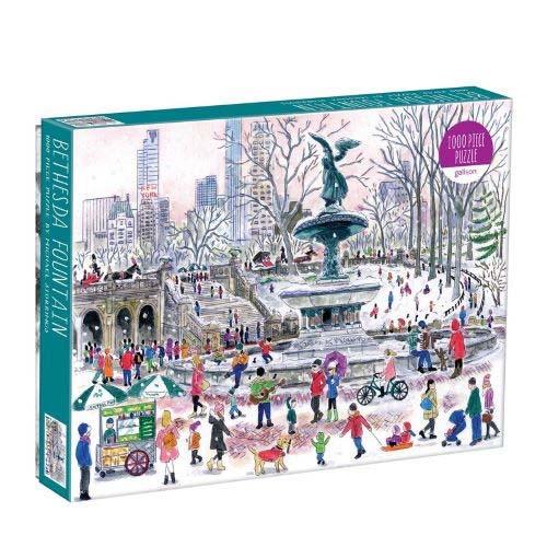 Michael Storrings Bethesda Fountain Puzzle (1000 Piece)