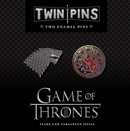 Game Of Thrones: Twin Pins - Stark And Targaryen Sigils Box Front