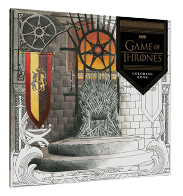 Hbos Game Of Thrones Coloring Book Box Front