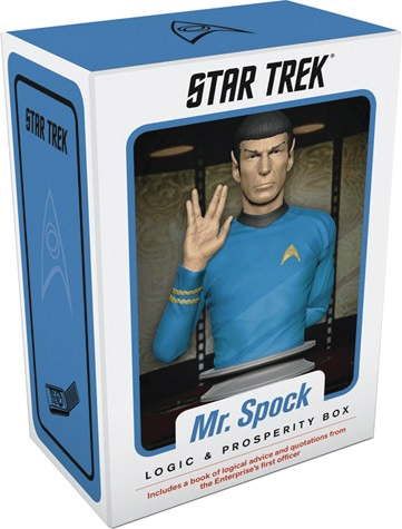 Star Trek: Mr. Spock Logic And Prosperity Box Box Front