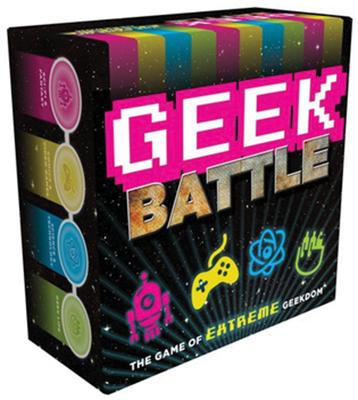 Geek Battle Game Box Front