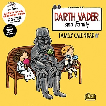 Star Wars: Darth Vader And Family 2020 Family Wall Calendar Game Box