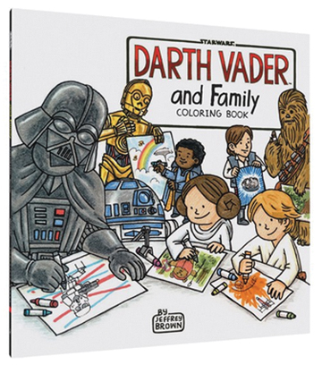 Star Wars: Darth Vader And Family Coloring Book Box Front