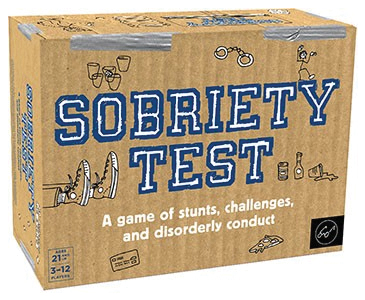 Sobriety Test Box Front