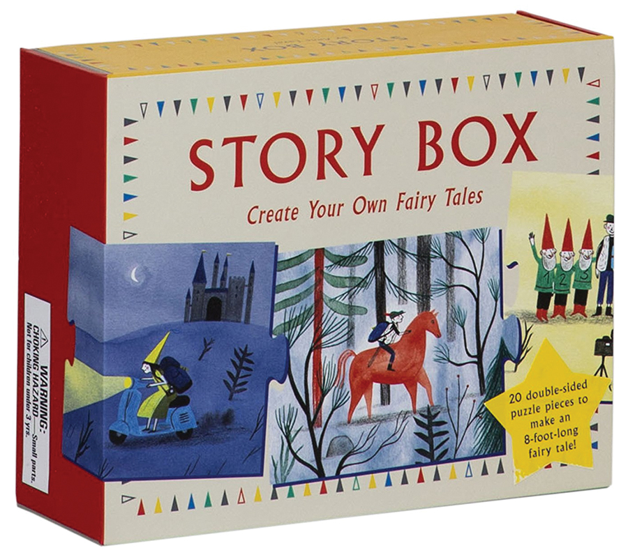Create Your Own Story Box: Fairy Tales Box Front