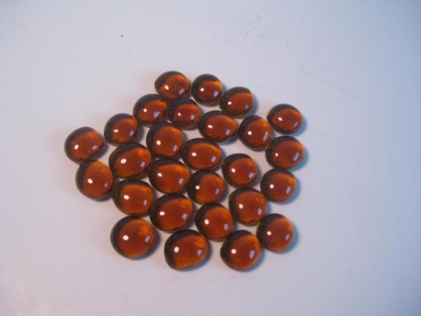 Rootbeer Glas Stones In 5.5` Tube (20+) Game Box