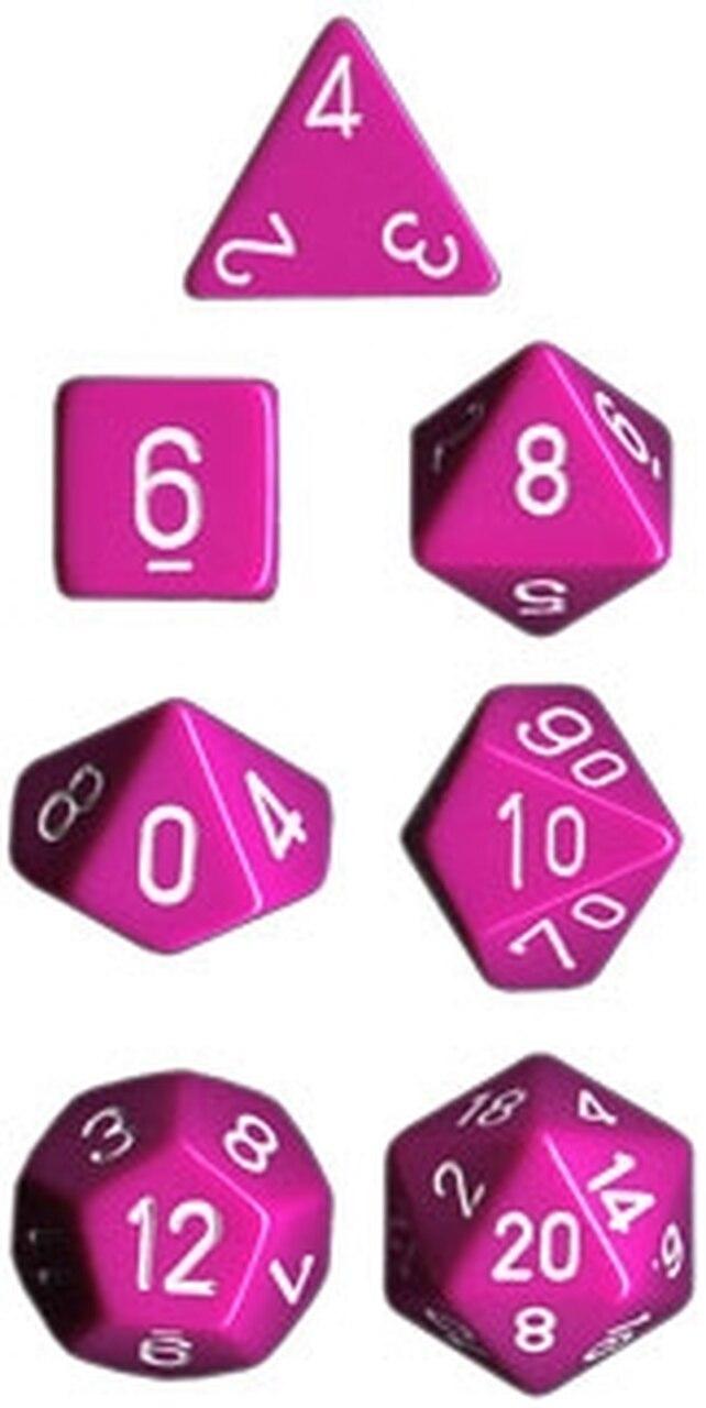 Opaque: Poly Set Light Purple/white (7)