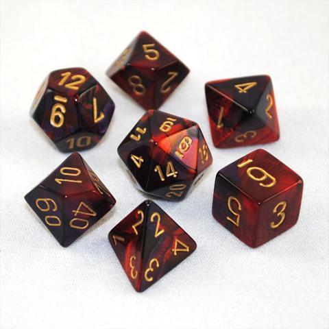 Gemini: Poly Purple Red/gold (7)