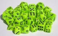 Vortex: Poly D10 Bright Green/black (10) Box Front