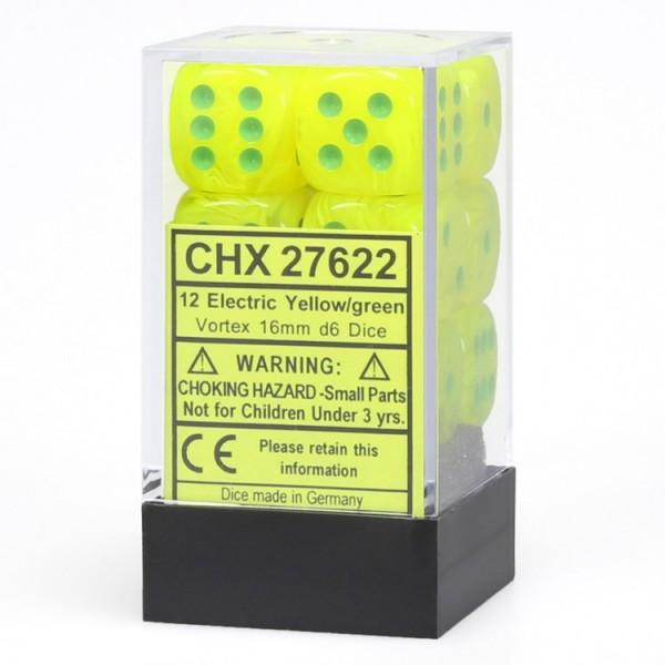 Dm8 16mm D6 Vortex Electric Yellow/green (12)