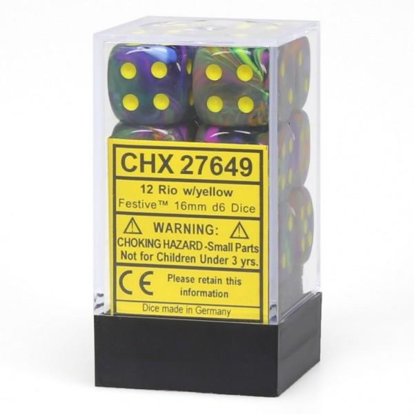 Dm8 16mm D6 Festive Rio/yellow (12)