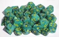 Vortex: 16mm D6 Malachite Green/yellow (12) Box Front