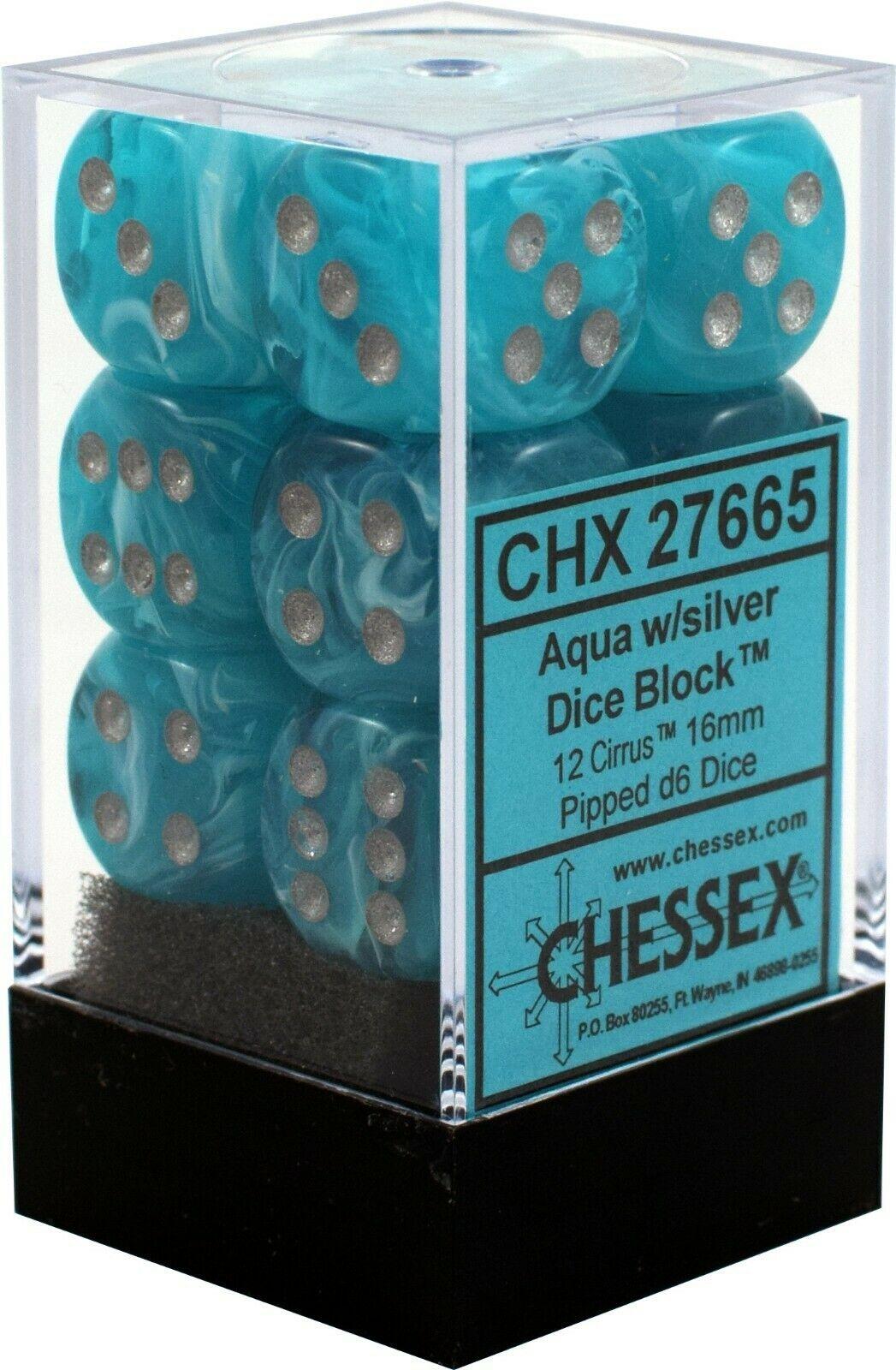 Dm5 Cirrus 16mm D6 Aqua/silver (12)