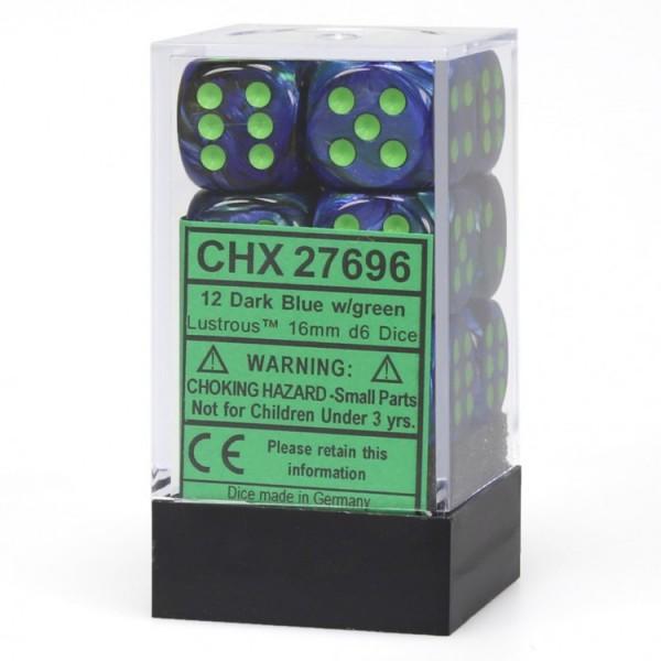 Dm8 16mm D6 Lustrous Dark Blue/green (12)