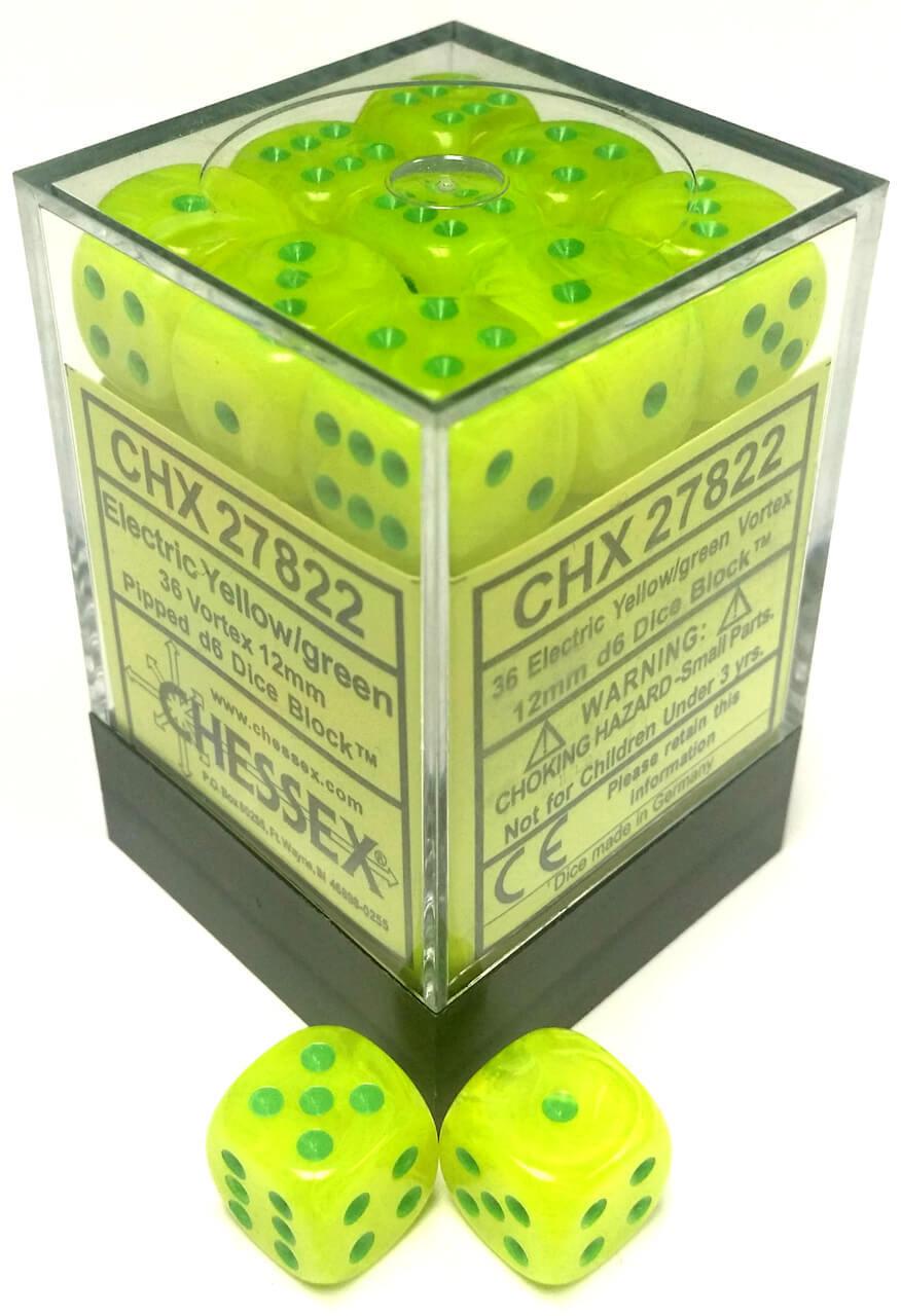 Dm8 12mm D6 Vortex Electric Yellow/green (36)