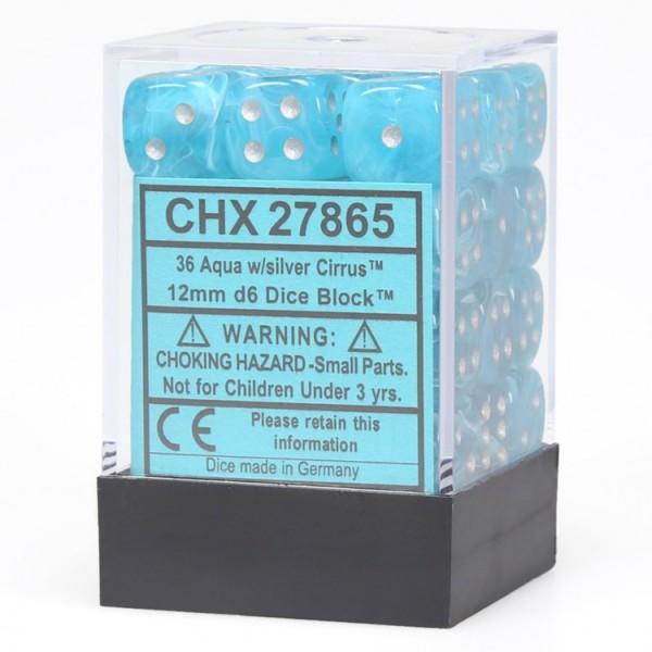 Dm5 Cirrus 12mm D6 Aqua/silver (36)