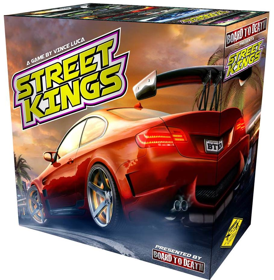 Street Kings Box Front
