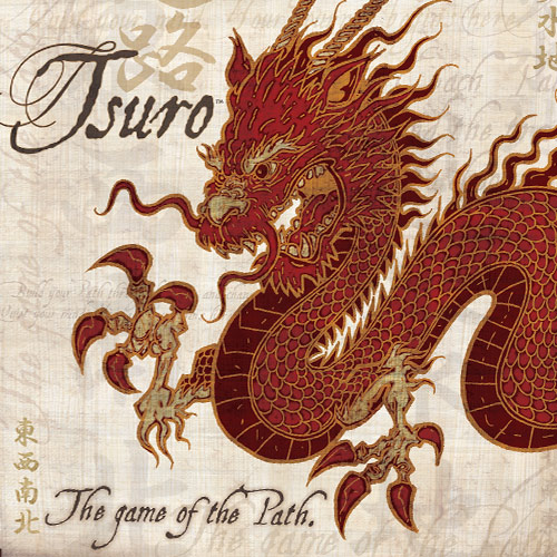 Tsuro: The Game Of The Path Box Front