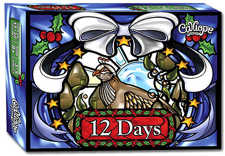 12 Days Box Front