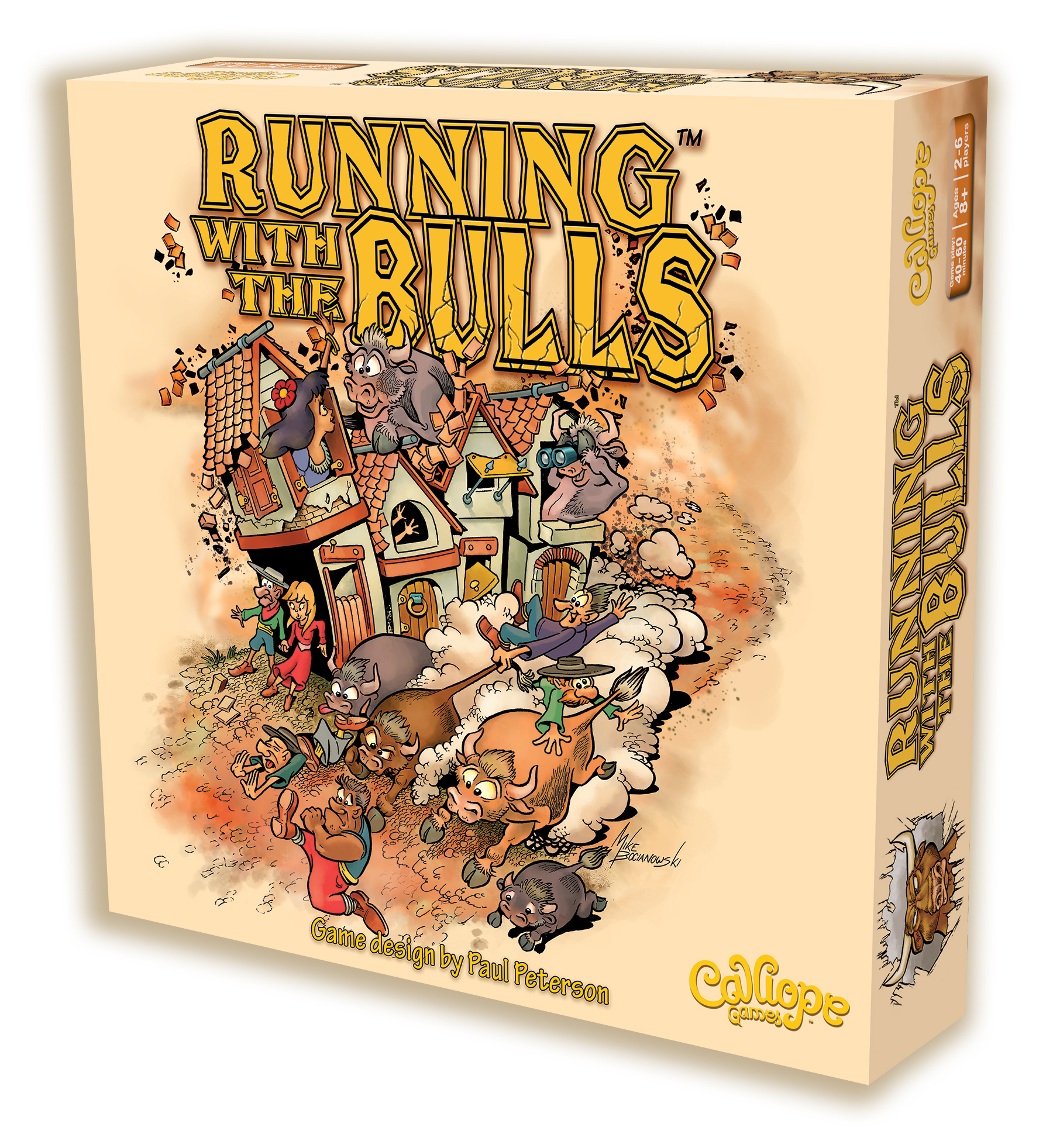 Titan Series: Running With The Bulls Box Front