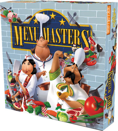Titan Series: Menu Masters Box Front