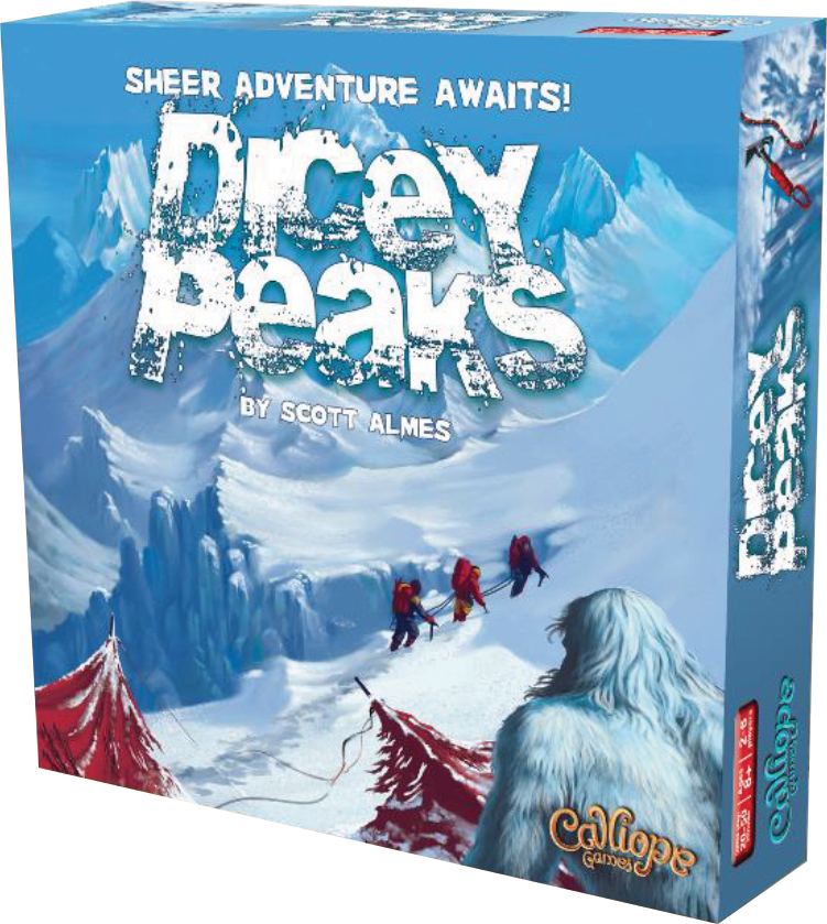 Dicey Peaks Box Front