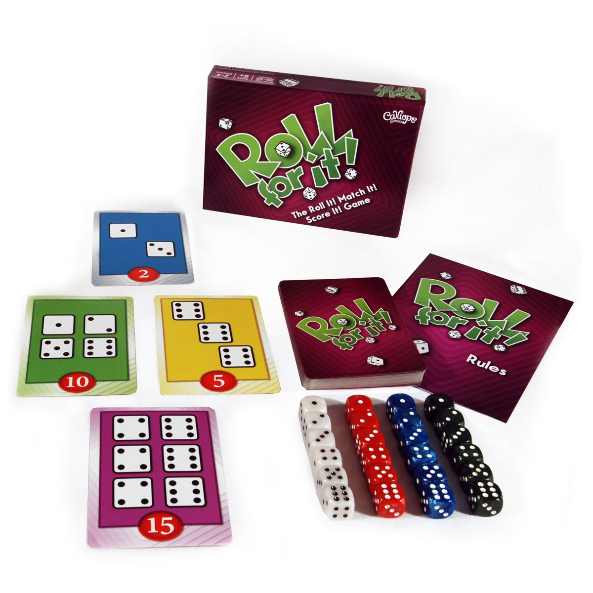 Roll For It!: Color Set 2 - Purple Edition Box Front