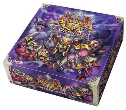 Arcadia Quest: Beyond The Grave Campaign Box Front