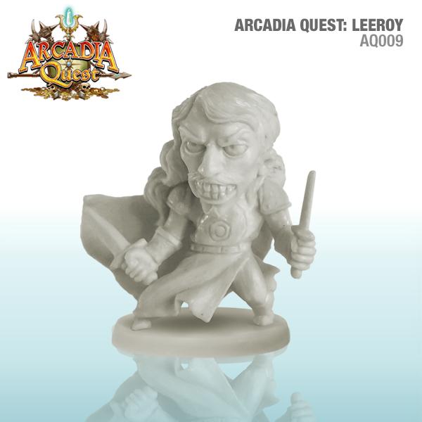 Arcadia Quest: Leeroy Box Front
