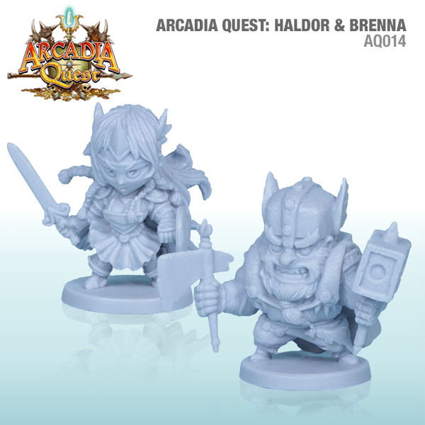 Arcadia Quest: Haldor And Brenna Box Front