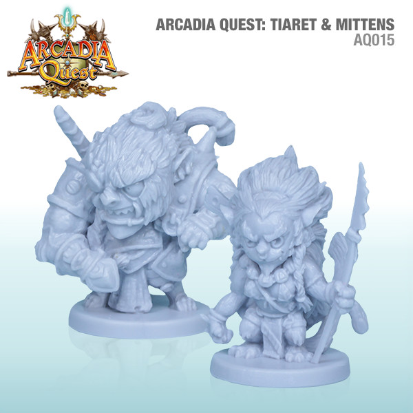 Arcadia Quest: Tiaret And Mittens Box Front