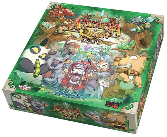 Arcadia Quest: Pets Box Front