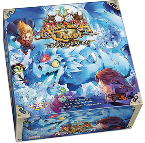 Arcadia Quest: Frost Dragon Box Front