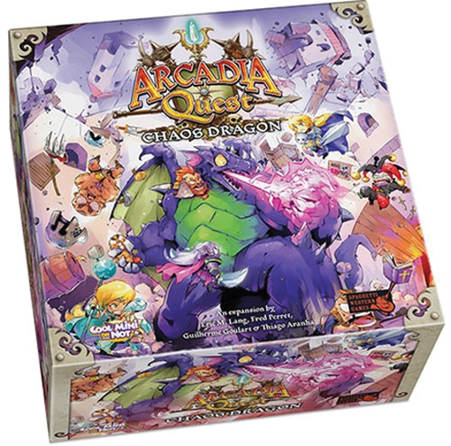 Arcadia Quest: Chaos Dragon Box Front