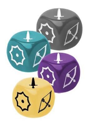 Arcadia Quest: Inferno Guild Dice Box Front