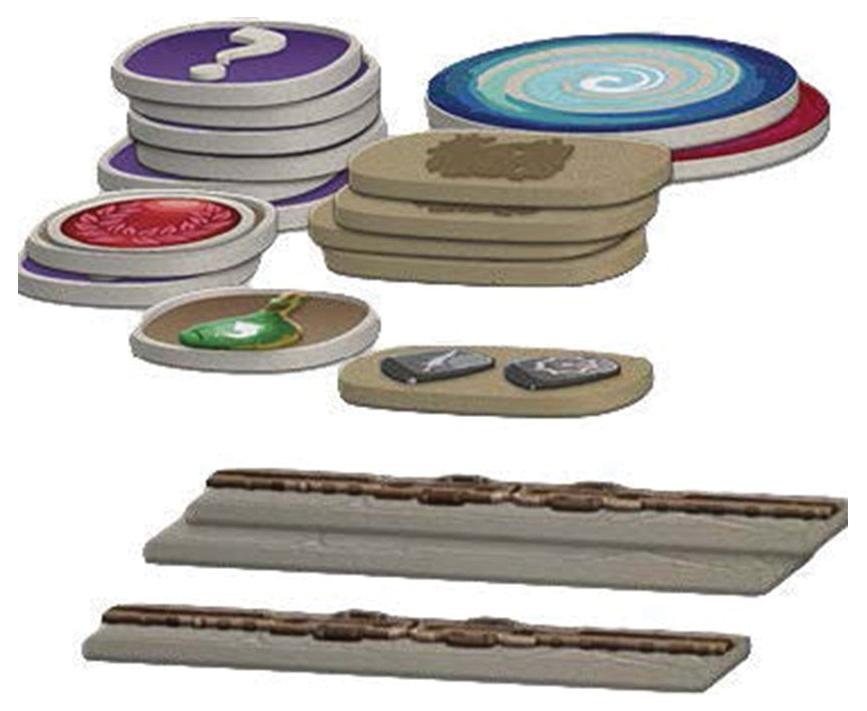Arcadia Quest: Plastic Token Pack Box Front
